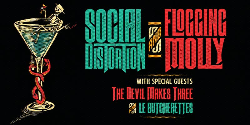 Social Distortion & Flogging Molly with The Devil Makes Three & Le Butcherettes