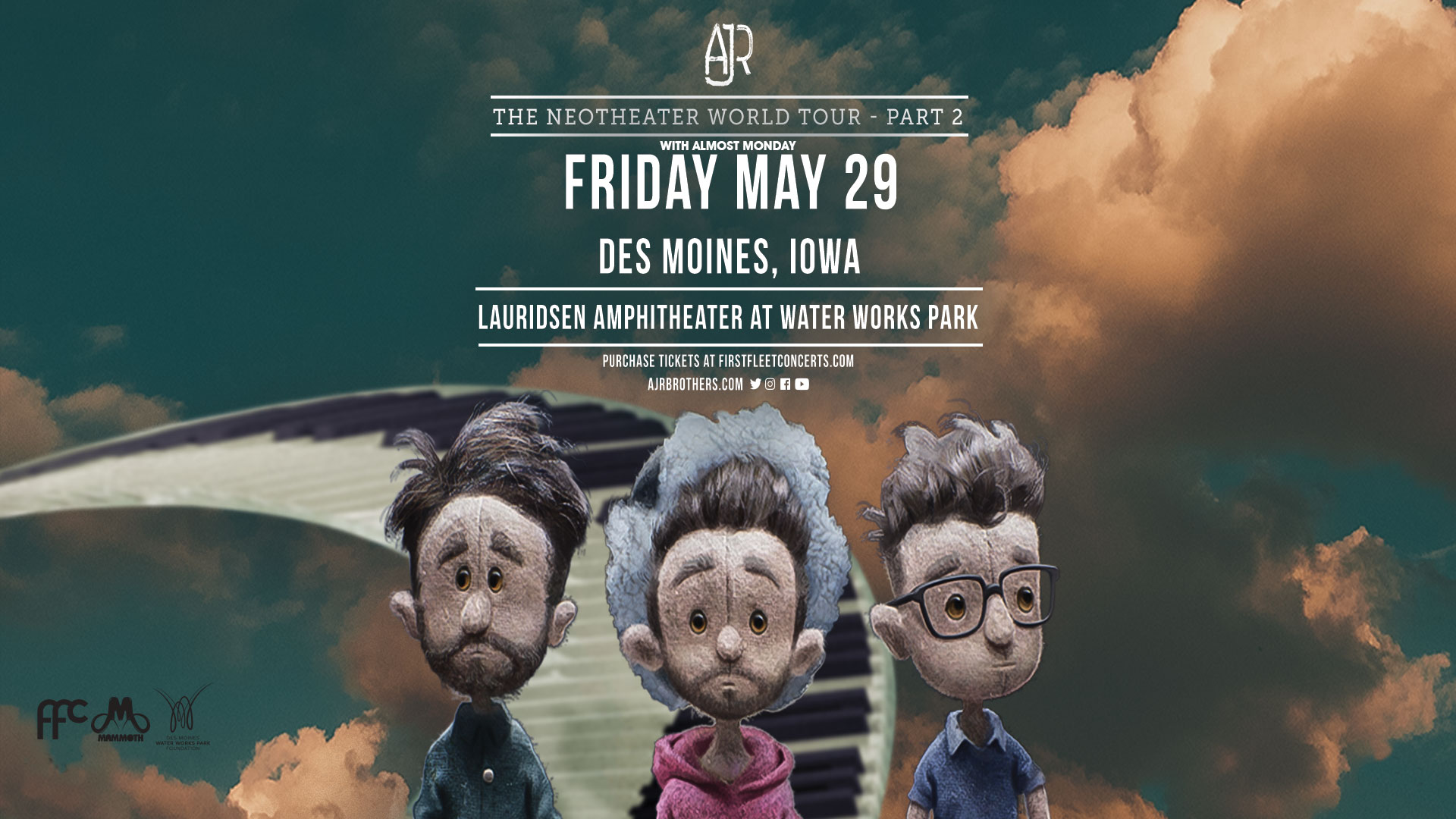 AJR: The Neotheater World Tour – Part 2 with almost monday