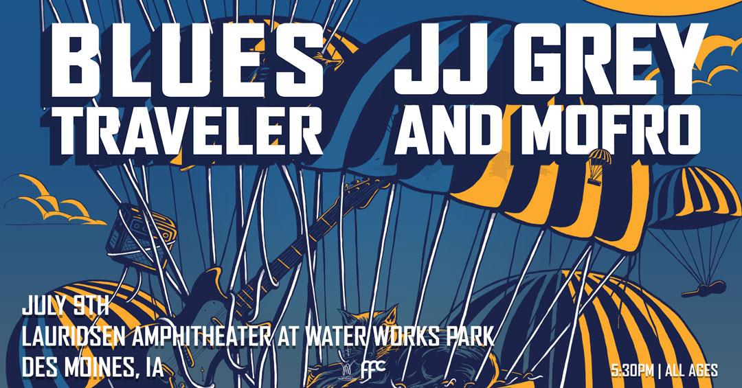 Blues Traveler & JJ Grey and Mofro