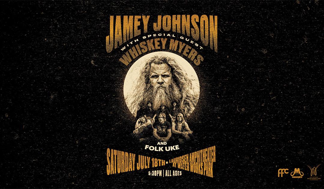 Jamey Johnson with Whiskey Myers and Folk Uke